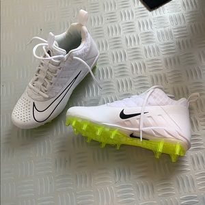 White Nike Cleats